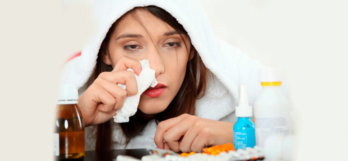 Советские способы избавиться от признаков простуды