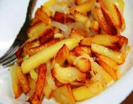 Моя жареная картошка всегда вкуснее чем у других. Расскажу свой секрет жарки, который знают единицы