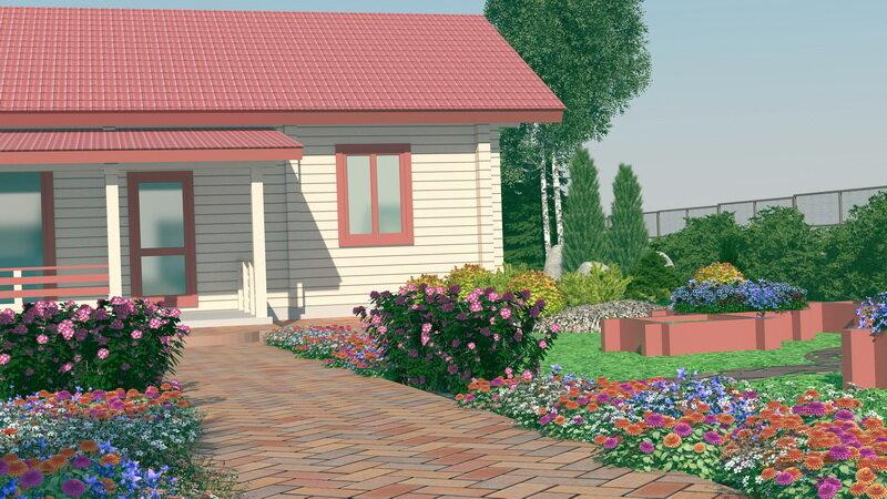 Дачный домик. Иллюстрация для статьи используется по стандартной лицензии ©life-hacky.ru