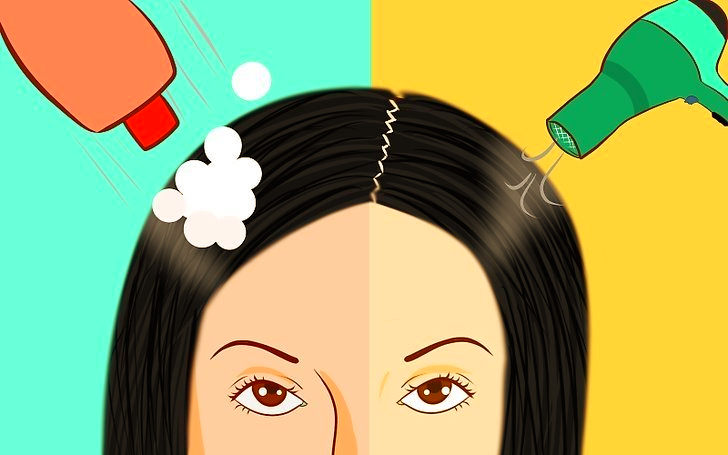 Объясняю как сделать трехдневный объём для волос. Простой но эффектный способ.