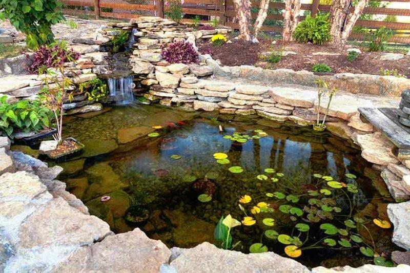Дачный пруд. Иллюстрация с www.henrydrillingandpump.com