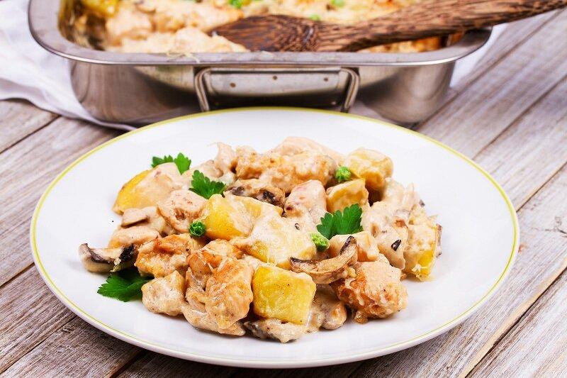 Блюда из картофеля. Иллюстрация для статьи используется по стандартной лицензии ©life-hacky.ru