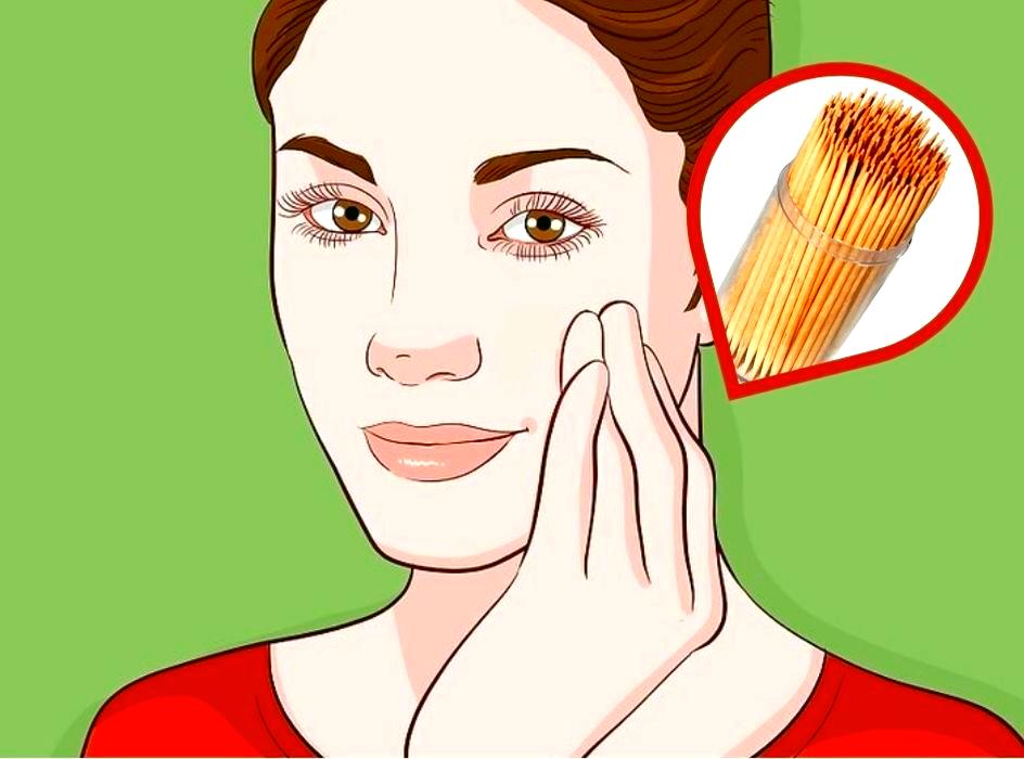 Разгладить лицо и убрать припухлости, поможет массаж зубочистками. (Бесплатный аналог мезороллера)