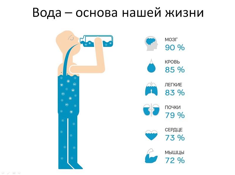 Вода лечит всё! Определи суточную норму и избавься от десятка болезней одним махом. Маленькая бутылочка всегда в моей сумке.
