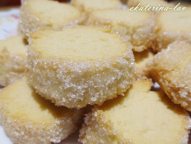 Быстрое и очень рассыпчатое печенье «Песочный бриллиант»