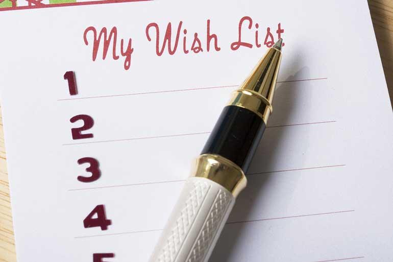 7 списков, которые должна вести каждая женщина
